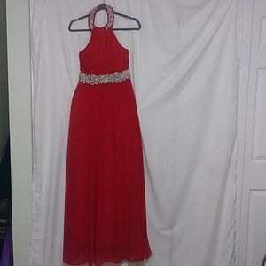 MY MICHELLE JEWELED junior to women gowns or dres.